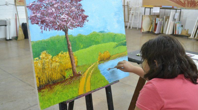 Pintura Em Tela E Desenho E Pintura Para Aprender E Praticar